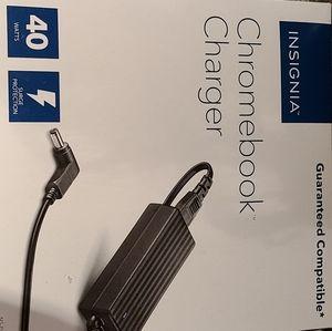 Insignia chromebook charger NIB